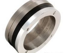 Titanium wedding bands for the stylish man