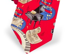 Ties for the musician and music lover