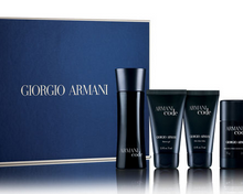 Armani fragrance gifts sets for men