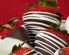 Join the chocolate-dipped strawberries club