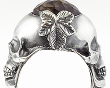 Designer skull jewelry from Italy
