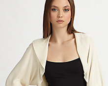Stylish evening wraps and jackets