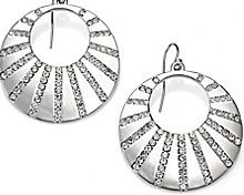 Stunning designer earrings