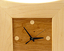 Elegant and fun artisan clocks