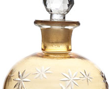 Classic perfume bottles