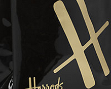 Bags from Harrods of London: Ships worldwide