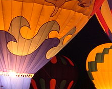 Hot air ballooning in the UK