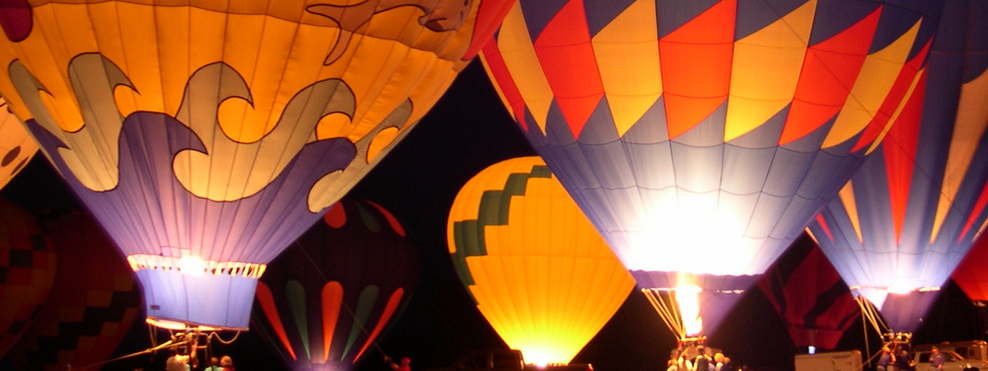 hot air ballooning gifts