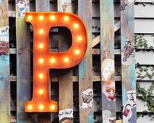 Decorative letters, numbers & symbols – illuminated