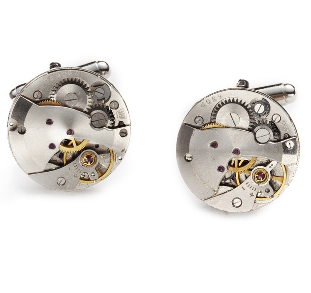 Seriously stylish cufflinks