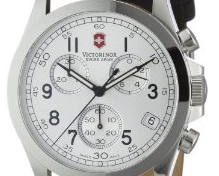 Victorinox Swiss Army Men's 24835 Chrono Pro Silver Dial Watch